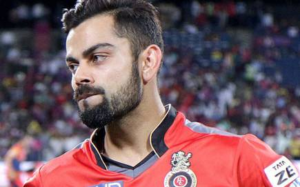 Virat Kohil was fined Rs 12 Lakh for maintaining slow over rate in iplt20