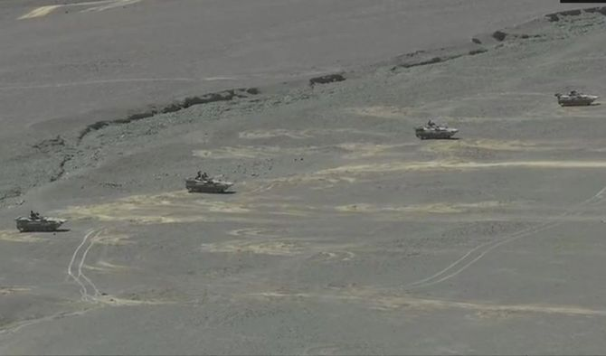New video emerges of Indian Army tanks near LAC amid border row with China